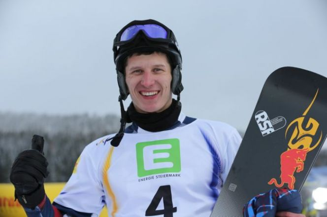 Андрей Соболев – призёр общего зачёта Кубка мира в параллельном гигантском слаломе.
