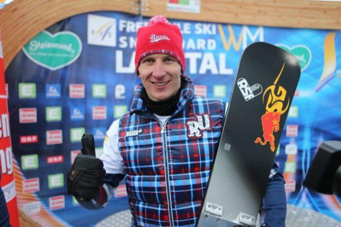 Андрей Соболев – чемпион России в параллельном слаломе!