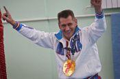 Заслуженному тренеру России по спортивной гимнастике Евгению Кожевникову - 50 лет.