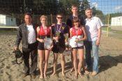 Краевая универсиада завершилась соревнованиями по пляжному волейболу.