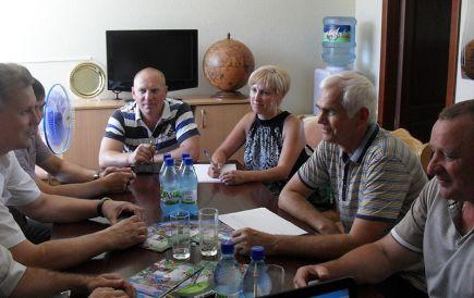 Состоялось заседание комиссии по проведению независимой оценки эффективности  деятельности КГБУ ДО «СДЮШОР по футболу Алексей Смертина».