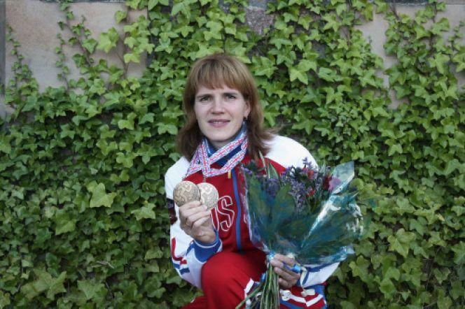 Галина Виноградова - двукратный бронзовый призёр чемпионата мира.