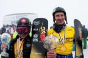 Андрей Соболев выиграл зачёт Кубка мира в параллельном гигантском слаломе и стал обладателем «Малого хрустального глобуса».