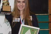 """Юлия Трубникова - победительница первенства Сибирского федерального округа по """"динамичной пирамиде""""."""