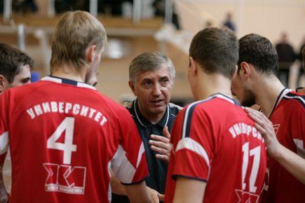 "Главному тренеру ""Университета"" Ивану Воронкову - 60 лет!"