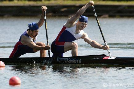 На олимпийском старте - байдарки и каноэ