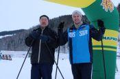 В селе Алтайском прошёл 50-километровый лыжный марафон «АлтайSKIй» (фото).