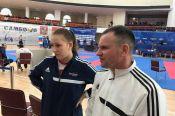 Татьяна Опарина из Ребрихи – бронзовый призёр Кубка России по каратэ WKF.
