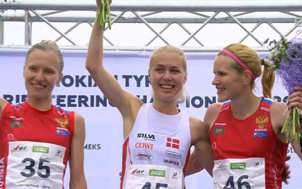 Галина Виноградова - бронзовый призёр чемпионата мира на спринтерской дистанции.