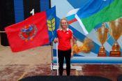 Екатерина Гусева - второй призёр чемпионата МЧС России в двоеборье.