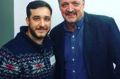 Барнаулец Михаил Меламед вместе с Виктором Гусевым прокомментирует матч Россия – Испания на сайте Первого канала