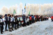 Алтайские мотолыжники открыли зимний сезон.