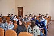 В Алтайском училище олимпийского резерва 25 января прошло мероприятие месячника молодого избирателя.