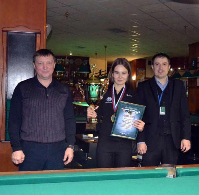 Юлия Трубникова - победительница чемпионата Сибири по «Комбинированной пирамиде».