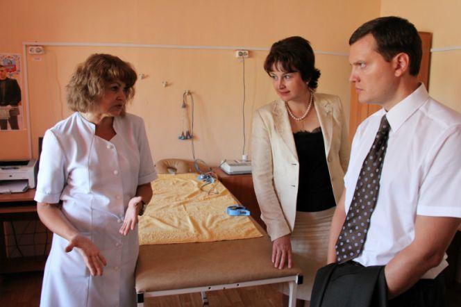 Заместитель губернатора Даниил Бессарабов побывал с рабочим визитом в медико-восстановительном центре при спорткомплексе «Обь».