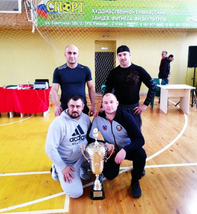 Рубцовская команда «ФАРБ» выиграла Кубок края