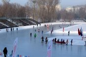 170 спортсменов-любителей поучаствовали в массовых соревнованиях «Лёд надежды нашей»