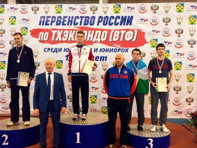 Алексей Каратаев – бронзовый призёр юниорского первенства России