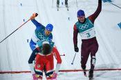 Российские лыжники Спицов и Большунов завоевали серебро в командном спринте