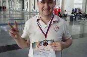 Валентин Киселёв – бронзовый призёр всероссийских соревнований «Малахитовые стрелы»