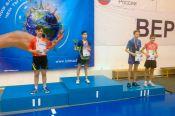 Бийчанин Владимир Авдеев завоевал две медали на лично-командном первенстве Сибири среди спортсменов до 16 лет