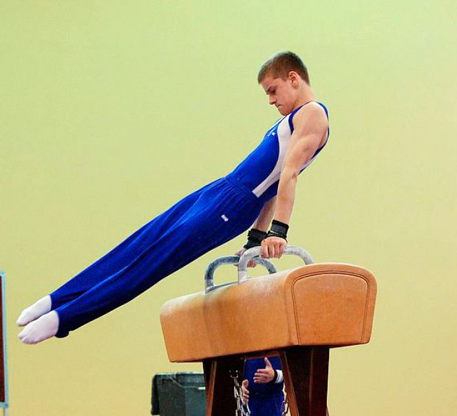 спортивная гимнастика анонс