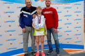 Бийчанка Ольга Вандакурова – победительница и призёр первенства Сибири среди спортсменов до 13 лет