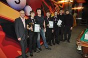 В Сибирском бильярдном центре «Богема» завершился III тур чемпионата края «Троеборье».