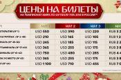 В России стартовал последний этап продаж билетов на чемпионат мира по футболу