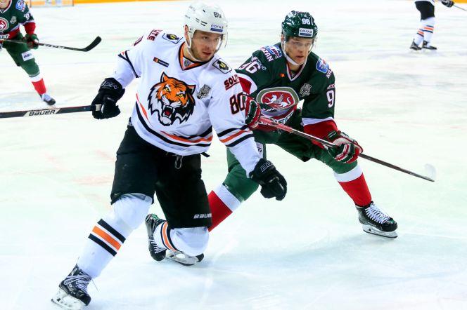 Никита Лямкин (в зелёной форме). Фото: ak-bars.ru