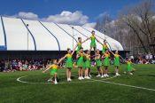 В Барнауле состоялись краевые школьные соревнования по чирлидингу
