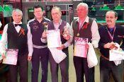 В Барнауле разыграли турнир среди ветеранов «Шар победы»