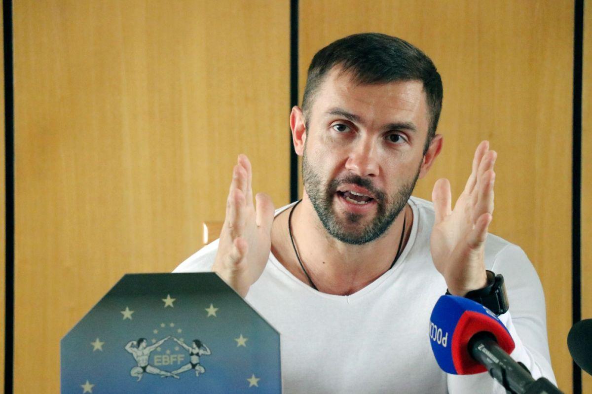Чемпион Европы по бодибилдингу Александр Барбашин. Фото: Виталий УЛАНОВ