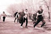 В Калманском районе прошла легкоатлетическая эстафета «Кольцо Победы»
