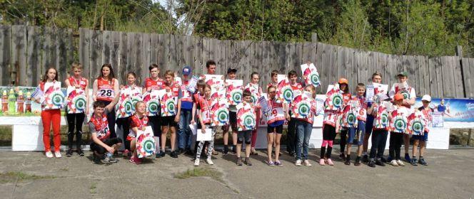 Первенство Барнаула по летнему биатлону среди детей в возрасте от 9 до 14 лет. Барнаул. 27 мая