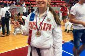 Инесса Цыганкова – победительница первенства Европы по каратэ JKA среди девушек 14-15 лет