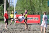 Новый сезон «Евразийской лиги пляжного футбола» стартовал в Барнауле