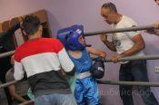 В спортивном клубе «Фаворит» установлен бойцовский ринг, на котором уже прошли первые соревнования