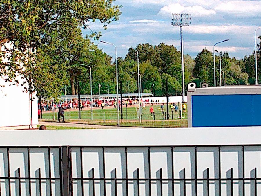 Тренировка сборной Коста-Рики в Павловске. Фото: Артём Тарасов