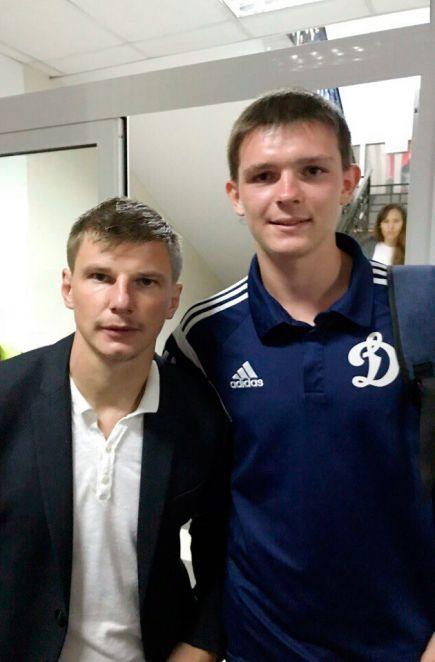 Андрей Аршавин и Игорь Абрамов