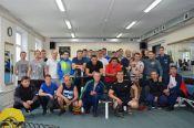 Пожарные города Барнаула провели соревнования по русскому жиму лёжа