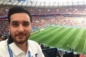 Барнаулец Михаил Меламед прокомментировал на Первом канале матч Сербия – Швейцария