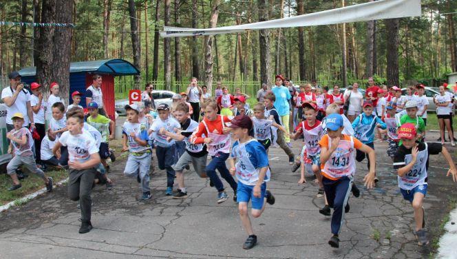 Всероссийский Олимпийский день - 2018 на Алтае. Фото Вадима Вязанцева