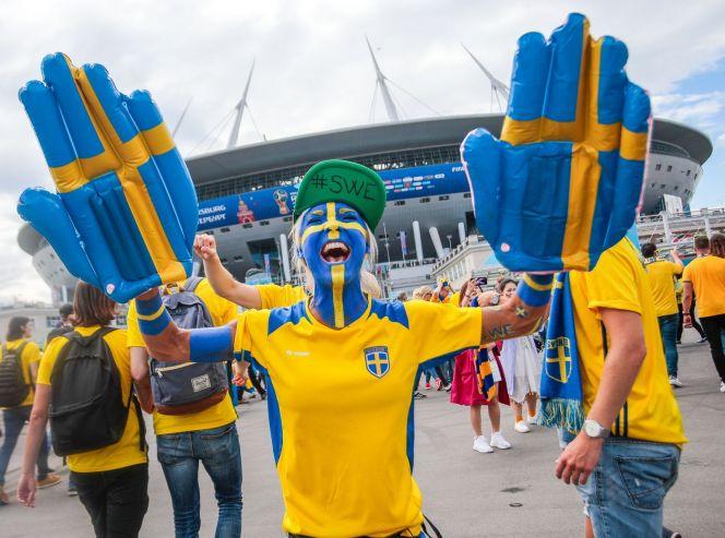 Швеция – Швейцария. Фото: sportbox.ru