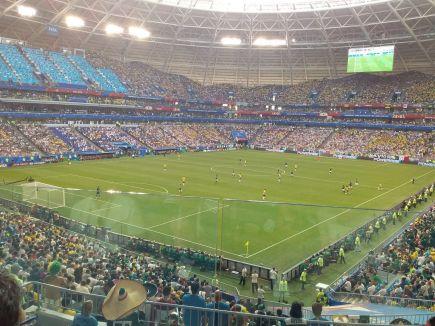 Матч Бразилия – Мексика. Фото: Артур ШПАК