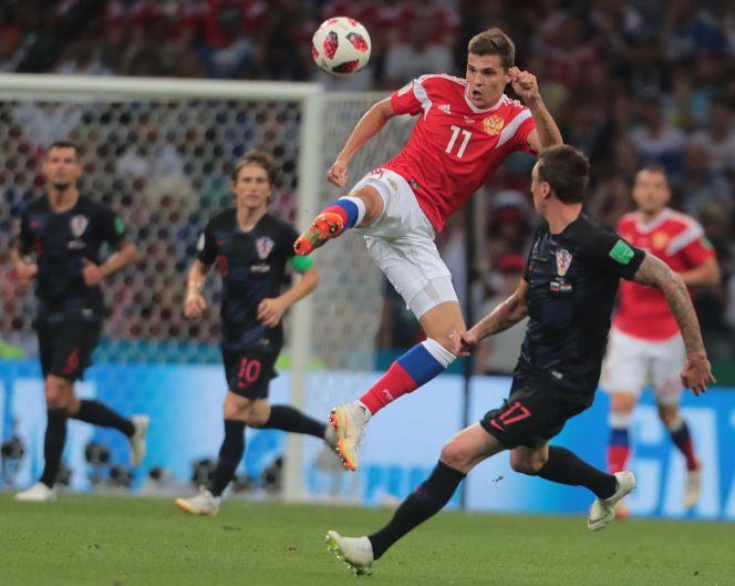 Россия – Хорватия. Фото: sportbox.ru