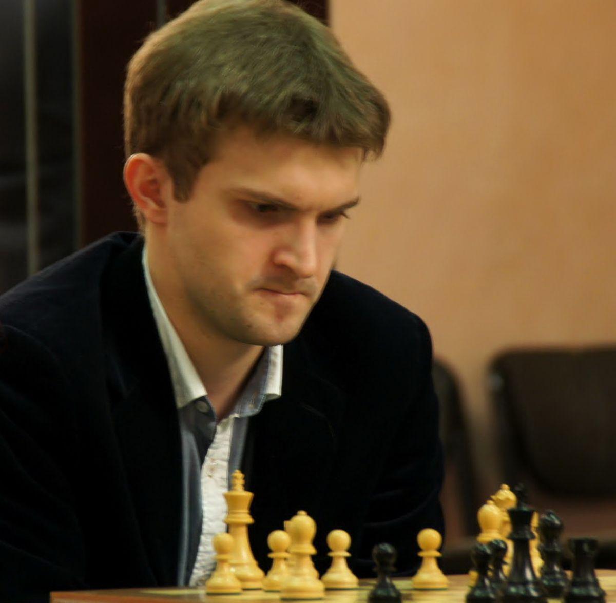 Международный гроссмейстер из Санкт-Петербурга Никита Витюгов