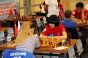 Матч дружбы в Белокурихе: Россия ведёт со счётом 25:11, Виктория Лоскутова выиграла три партии из четырёх