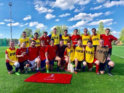 Футбольный турнир среди волонтёров