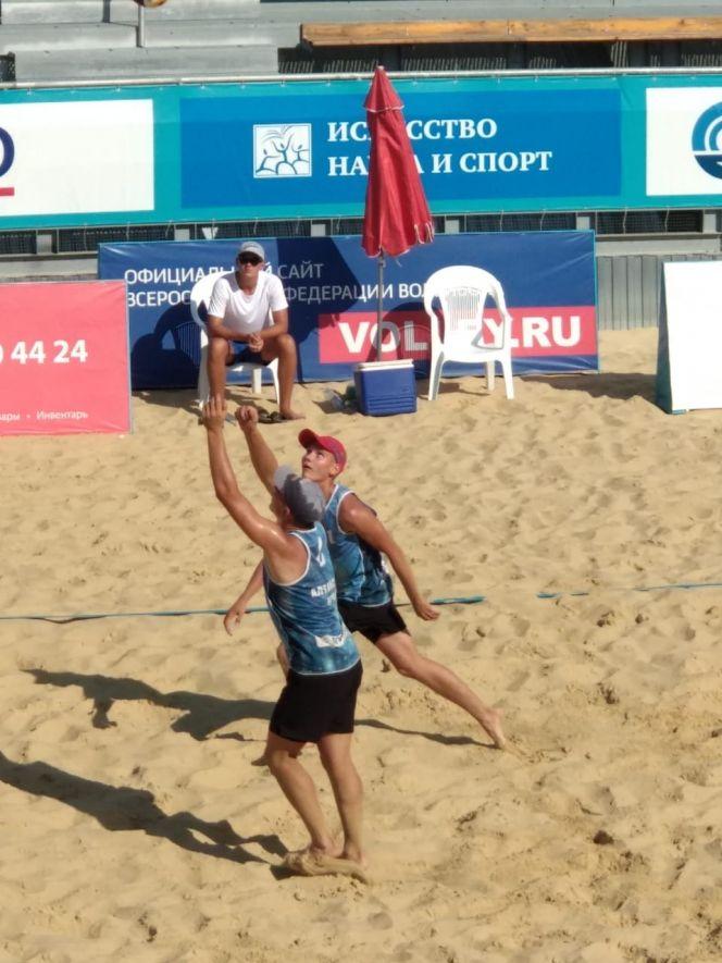 Финал первенства России по пляжному волейболу среди юниоров до 19 лет